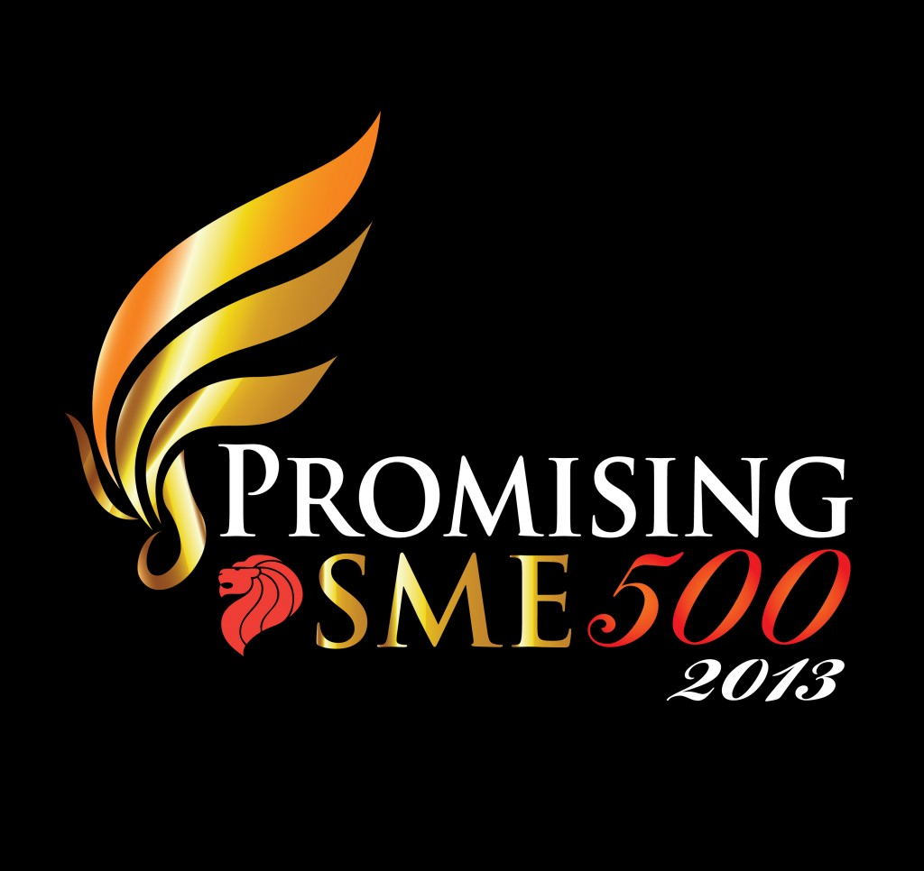 Promising SME 500 2013 Logo Black Background