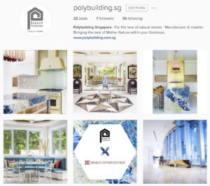 Polybuilding Instagram: Projects with Design Intervention