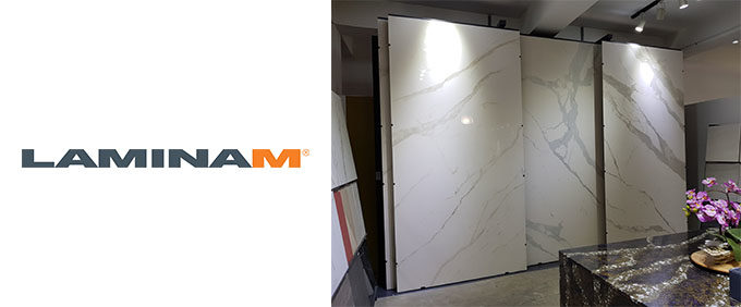 LAMINAM: Italian marble look-alike ceramic slabs